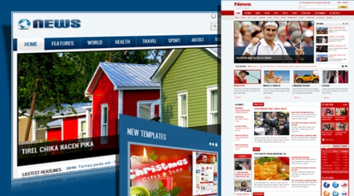 Free joomla templates sj news reloaded quickstart package maxwellsz
